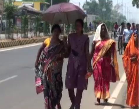 Heatwave across Odisha
