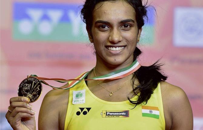 Sindhu wins women's singles final of 'Yonex-Sunrise India Open 2017' tournament