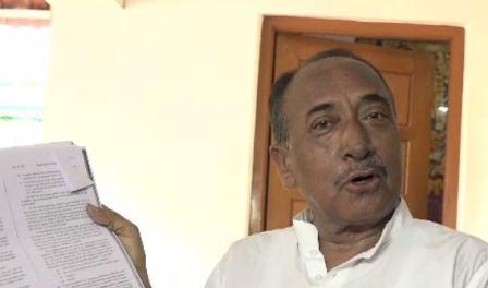 Bijoy Mohapatra alleges huge scam in Sri Mandir Corpus Fund