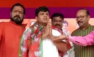 CPI (M) leader Krushna Chandra Nayak in BJP