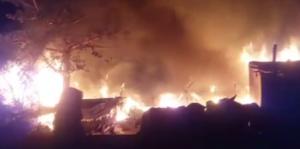 fire in Cuttack