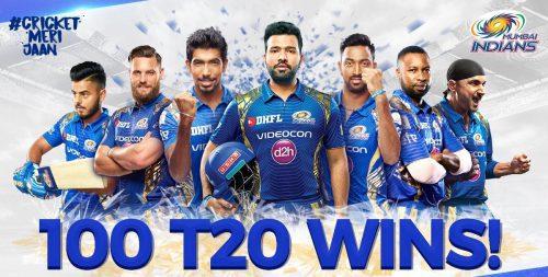 Mumbai Indians on Top IPL 10