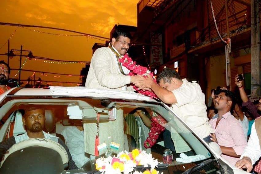 Dharmendra Pradhan launches Mission Ganjam campaign.