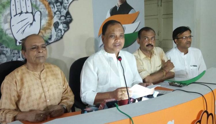 PCC President Prasad Harichandan slams BJD Govt in Odisha.