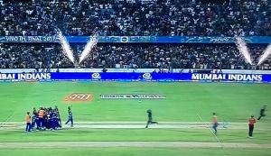 Mumbai Indians win IPL 10 Title