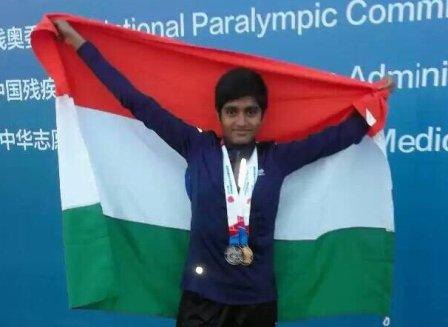 Jayanti Behera wins gold in China Open Para athletic Grand Prix Championship