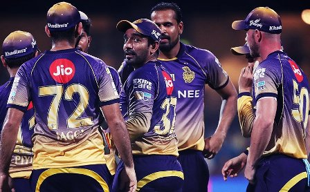 Kolkata Knight Riders win Eliminator in IPL 10
