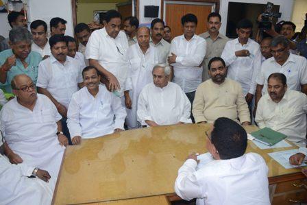 Pradip Amat files nominations for Odisha Assembly Speaker's post