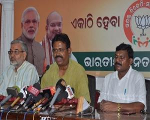 Sudipta Ray calls Odisha Revenue Minister Maheswar Mohanty land broker