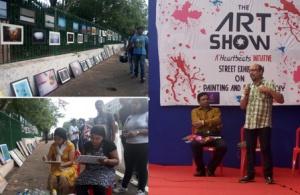 street exhibition in bhubaneswar