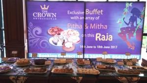 Hotel Crown to begin food festival this Raja Parba