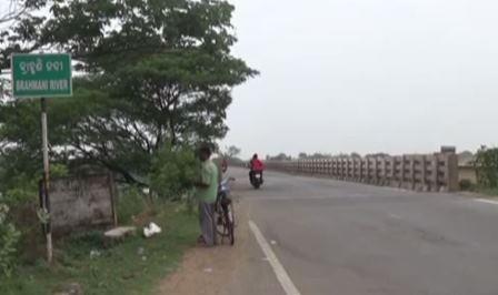 Brahmani bridge in Sundargarh