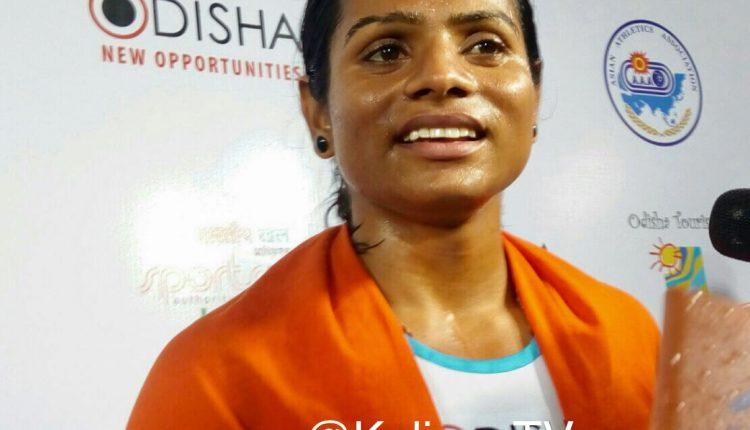 Dutee Chand, Odisha