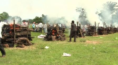 10 bodies consigned to same flame in Sambalpur village