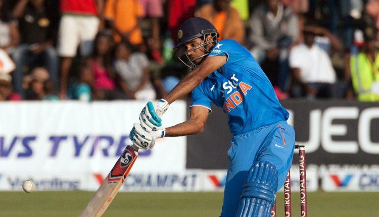 Bhuvi hits maiden ODI fifty