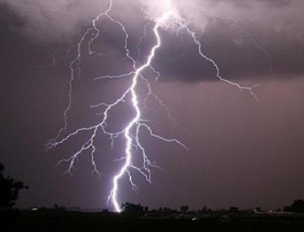 Thunderstorm, Lightning
