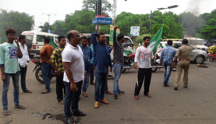 BJD Strike in Bhubaneswar