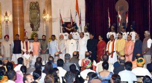 Modi's team of ministers