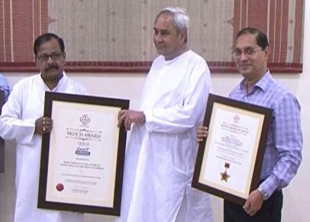 Odisha gets prestigious SKOCH Platinum Award-2017