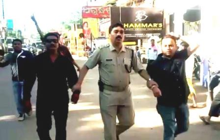 Police detain 34 Congress, BJP activists for protesting CM's visit