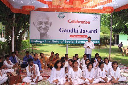 Gandhi Jayanti and Swachh Bharat Abhiyan observed in KIIT & KISS