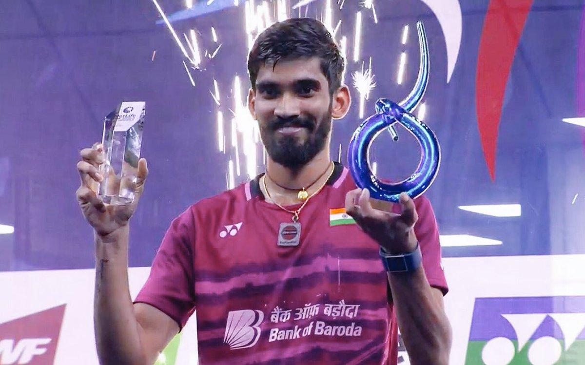 French Open Badminton K Srikanth wins men s singles title KalingaTV