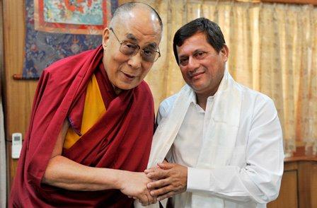 Dalai Lama to receive 10th KISS Humanitarian Award