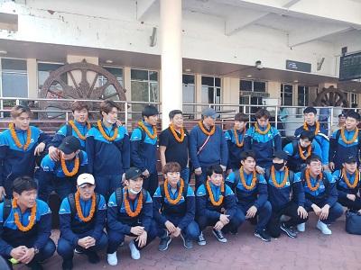 korea hockey team to play friendly matches